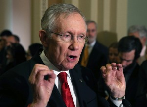 Senate minority leader Harry Reid. (Photo by Mark Wilson/Getty Images)
