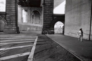 William Meyers, DUMBO, Brooklyn: June 28, 2002 (Photo courtesy of The New York Public Library)
