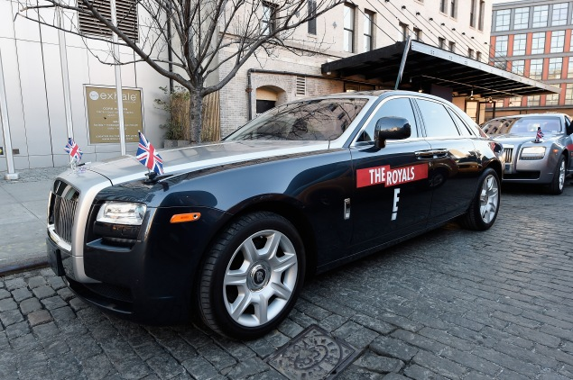 Ride Like A Royal With E!'s Royal Motorcade