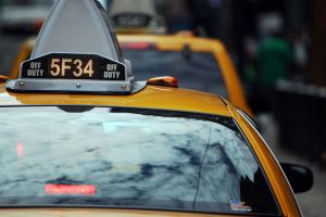 New York City is becoming saturated with services competing for the on-demand taxi market. (Photo: Getty)