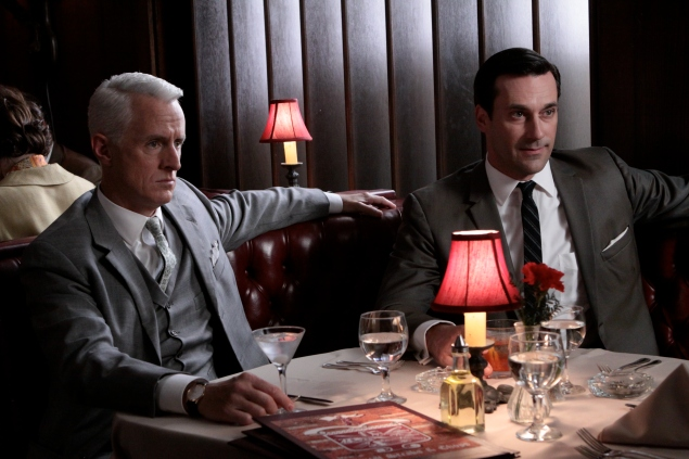 Roger Sterling, Don Draper (Photo: AMC).