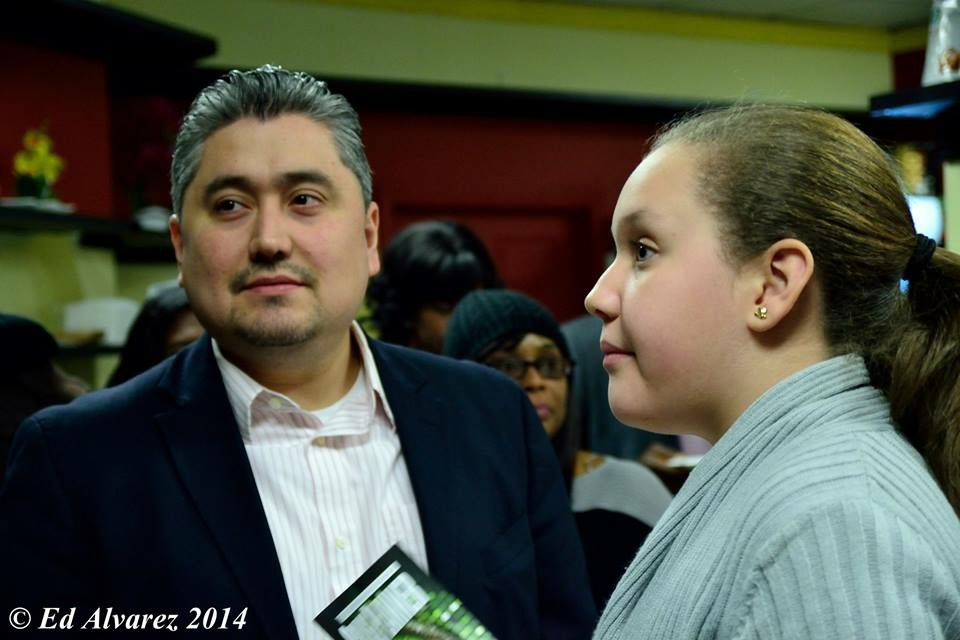 Alex Gomez and his daughter, Caitlin. (Photo courtesy of Ed Alvarez)