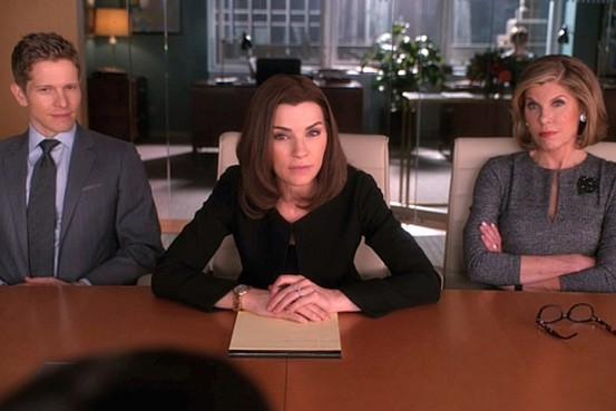 Julianna Margulies as Alicia Florick on The Good Wife.