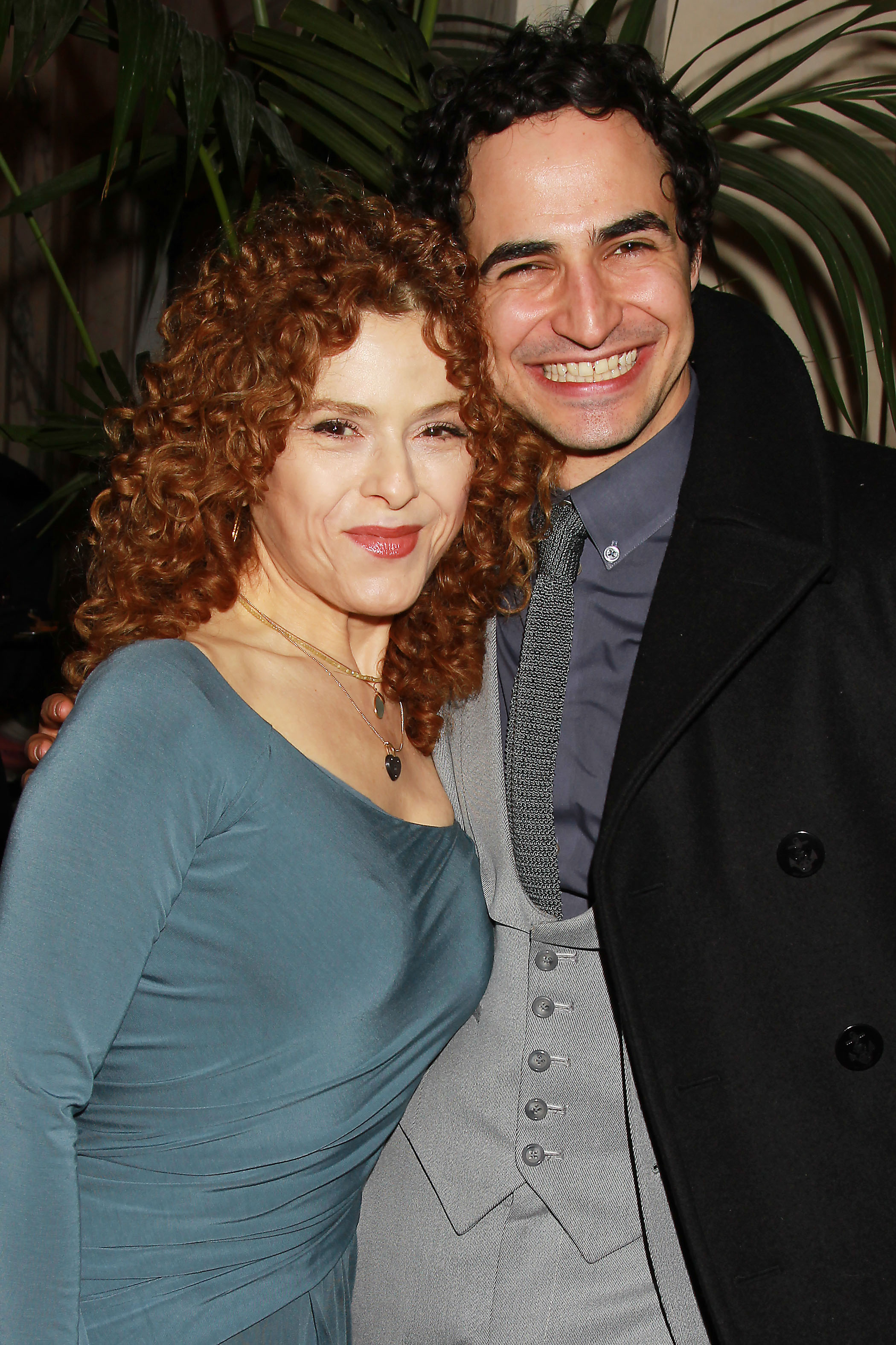 Bernadette Peters and Zac Posen at the event (Photo: Dave Alloca/StarPix).