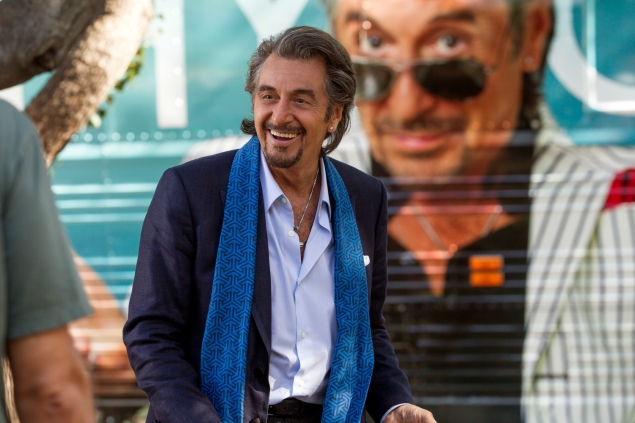 Al Pacino plays a has-been rock star from the Nixon years in Danny Collins.