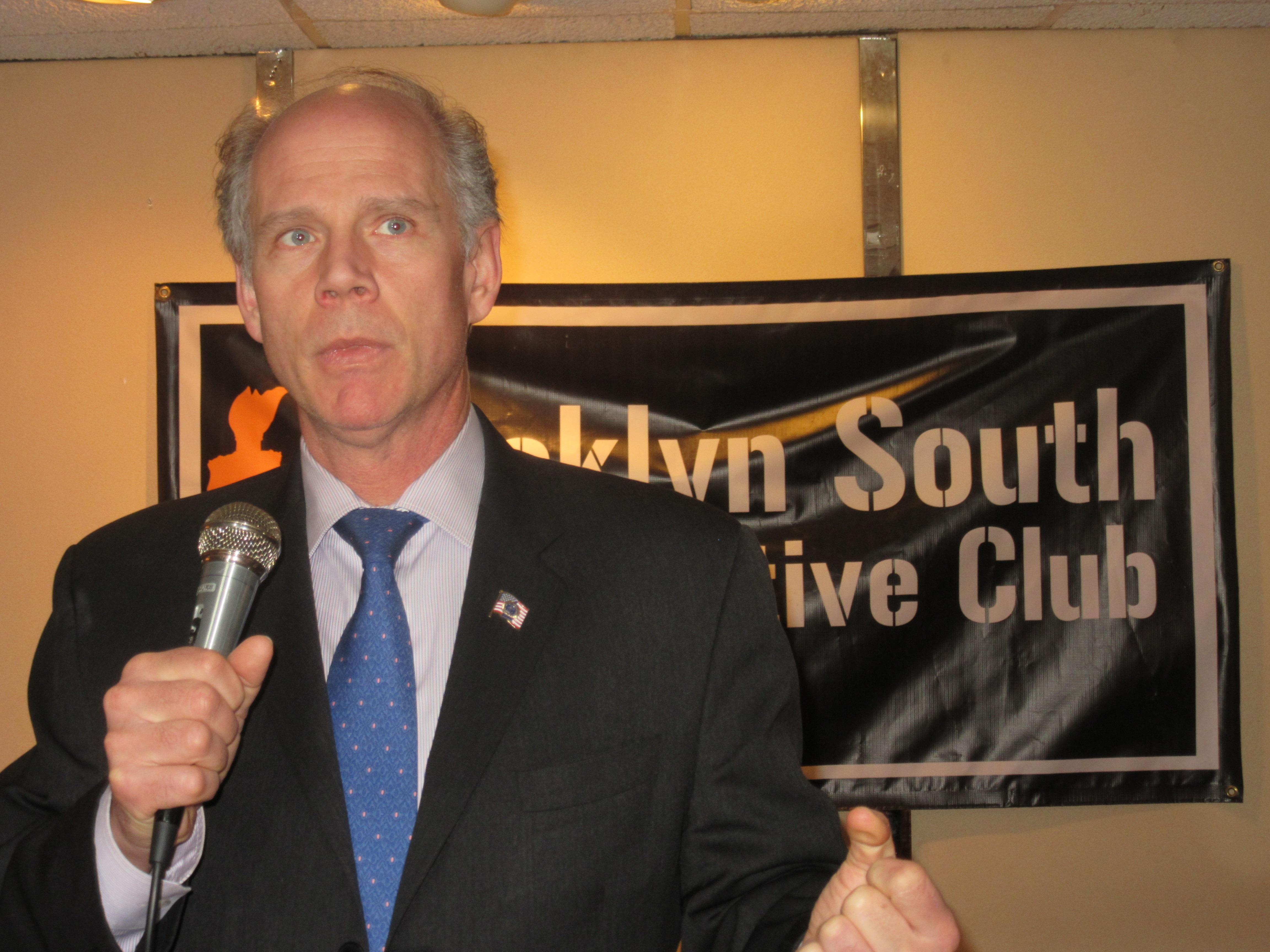 Staten Island District Attorney Daniel Donovan (Photo: Will Bredderman/New York Observer).
