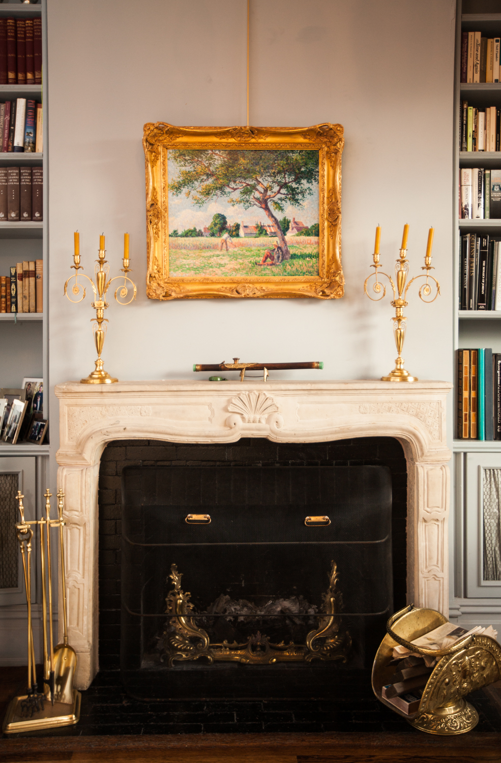The fireplace (Photo: Getty).