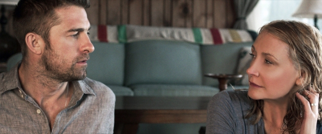 Scott Speedman and Patricia Clarkson in October Gale.