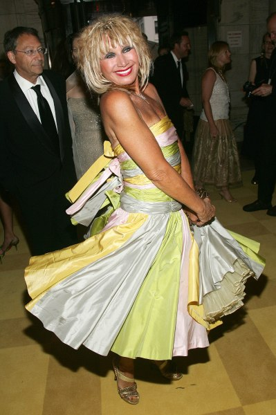 NEW YORK - JUNE 06:  Designer Betsey Johnson attends the 2005 CFDA Awards at the New York Public Library June 6, 2005 in New York City.