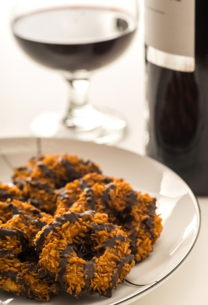 GIRL SCOUTS AND WINE
