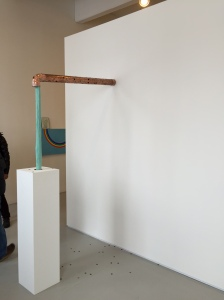 Jory Rabinovitz, Through 3, at the Martos Gallery booth at Independent. (Photo by Nate Freeman)