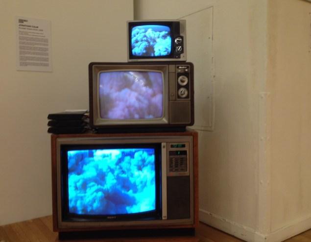 """Jonathan Calm, """"Scudder Towers Down"""" (2008) (Photo: Brianna McGurran)."""