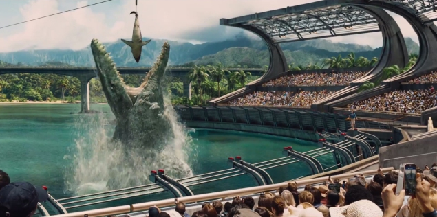 Jurassic World, which hits theaters this June, is the fourth installment in Steven Spielberg's beloved franchise.