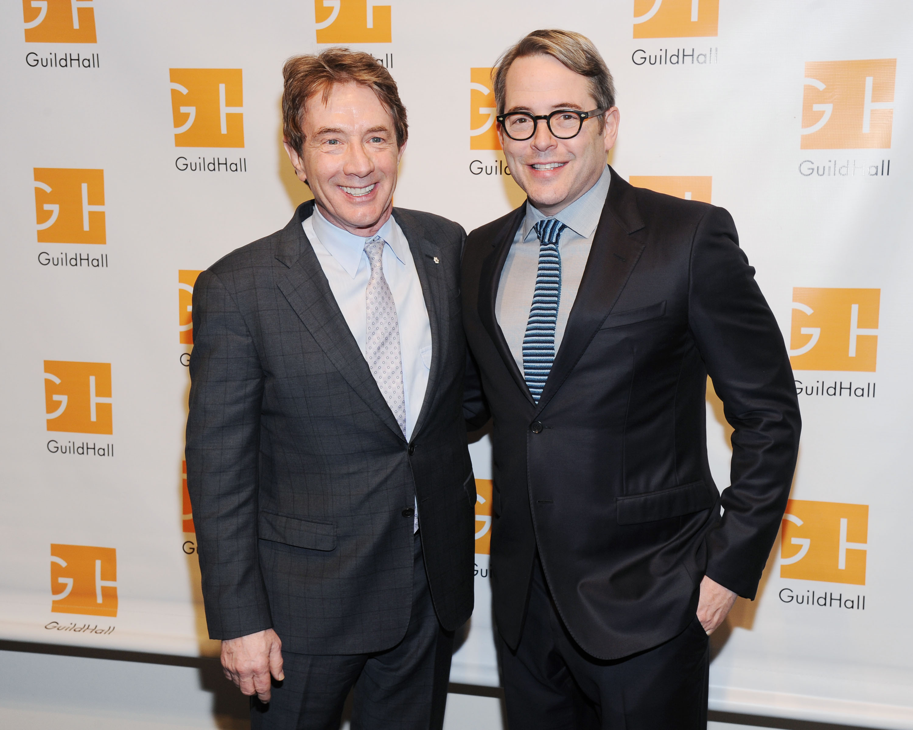 Martin Short and Matthew Broderick at the event (Photo: Patrick McMullan).