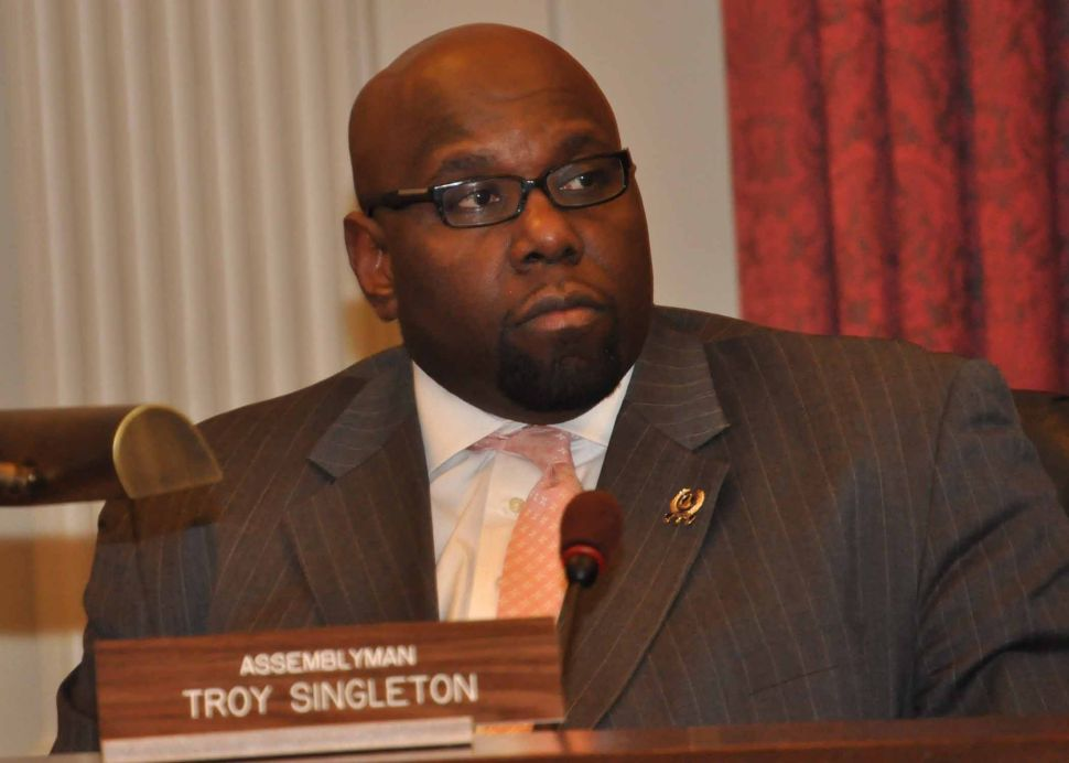 Assemblyman Troy Singleton has a bright future, even if it doesn't include Lt. Gov (for now).