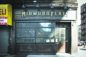 (Relatively) new arrivals include Midwood Flats, a whiskey-centric bar and restaurant.