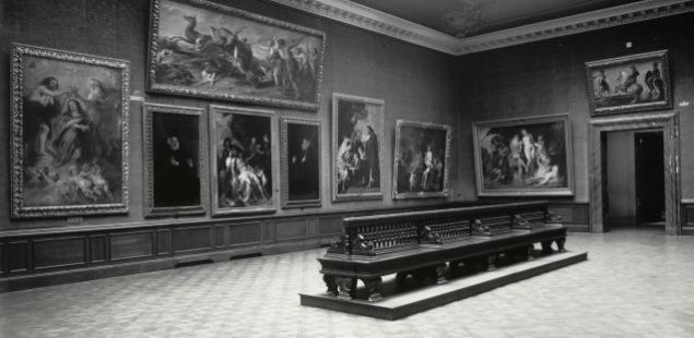 The Bode Museum in 1926, before the war. (Photo: Bode Museum website)