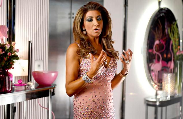 Controversial Housewife Gina Liano. (Photo: Bravo)