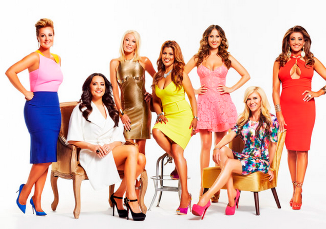 The Real Housewives of Melbourne Season 2 premieres Thursday at 9 p.m. Ms. Gillies is third from the right. (Photo: Bravo)