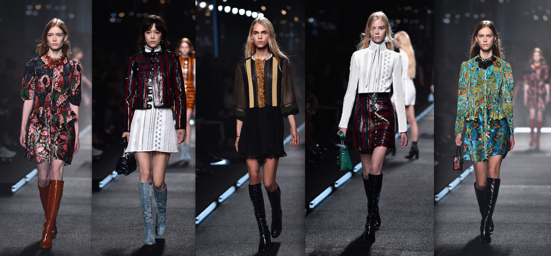 All of the gogo boots from Louis Vuitton's spring and summer 2015 collection (Photos: Getty).