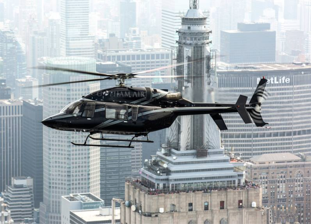 Your next ride to the airport. (Photo: Gotham Air)