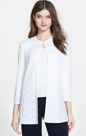 Ming Wang collarless jacket (Photo: Nordstrom.com)