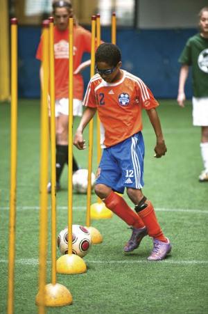 Chelsea Piers Elite Soccer Camp. (Photo: Chelsea Piers)