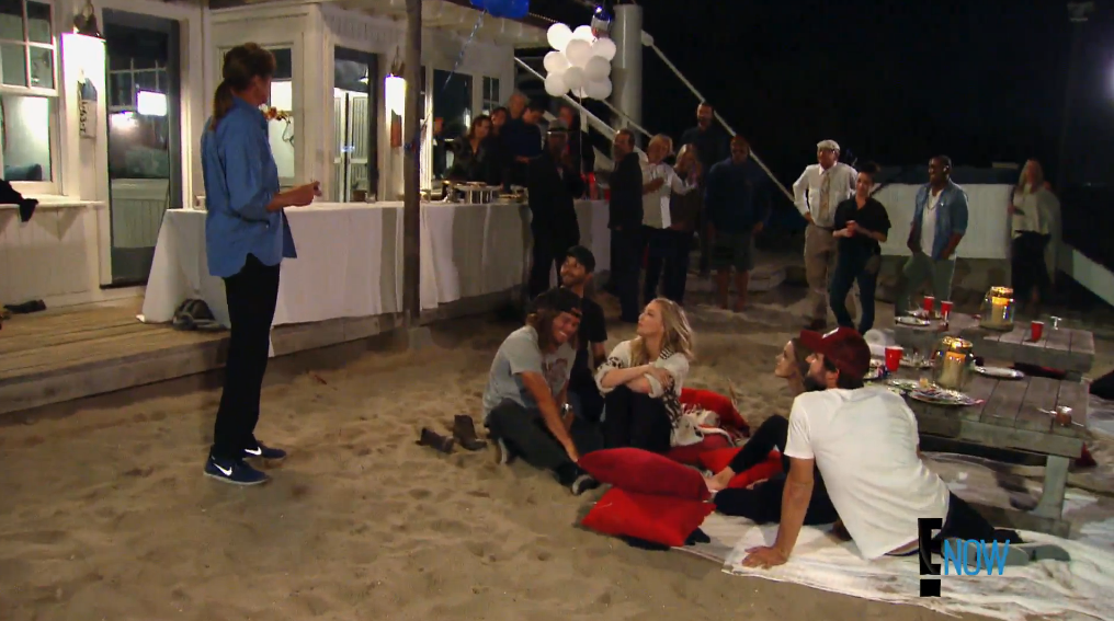 A real humdinger of a BBQ (Screengrab: E! Online).