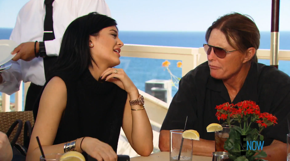 Oh, hey Kylie (Screengrab: E! Online).
