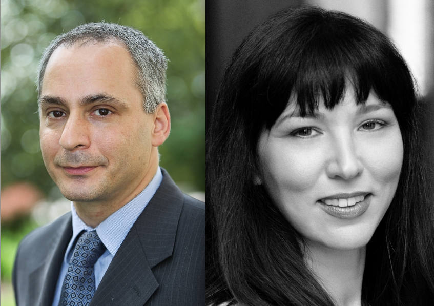 Benjamin Wittes and Gabriella Blum, the co-authors of the book. (Photo: Basic Books)