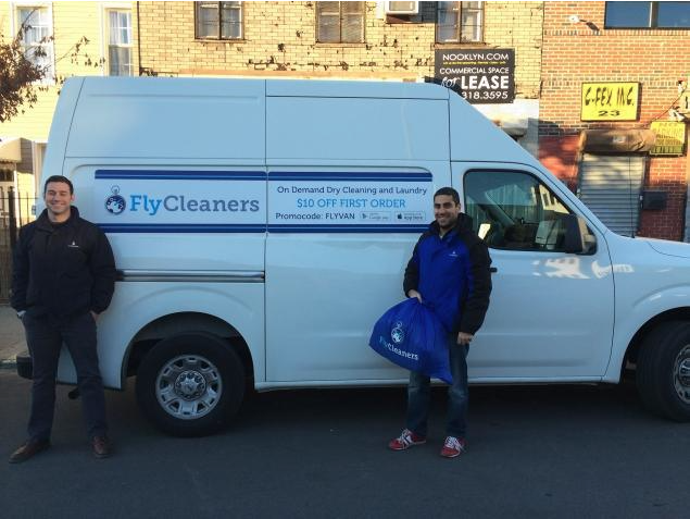 Just give your laundry to these guys. (Photo: FlyCleaners)