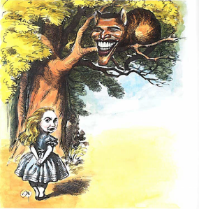 Hillary in wonderland (Illustration: Victor Juhasz)