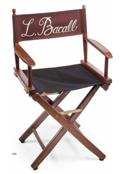 A variety of director's chairs is sprinkled throughout the auction. (Photo: courtesy Bonhams)