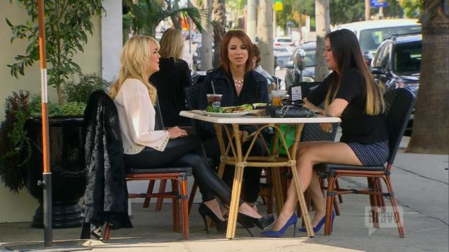 So Patti Stanger, Jill Zarin, and Dina F***ing Lohan walk into a bar...