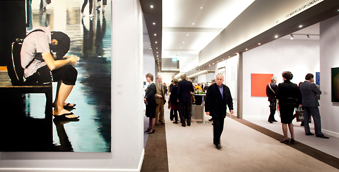 The booths at TEFAF Maastricht. (Courtesy TEFAF)