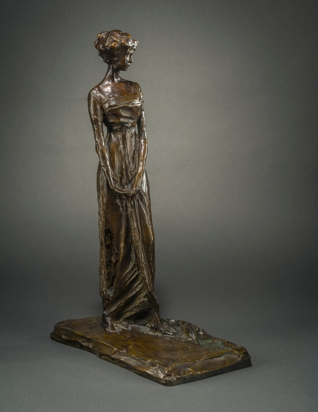 Prince Paul Troubetzkoy, Figure of Gertrude Vanderbilt Whitney. (Courtesy Hirschl & Adler)