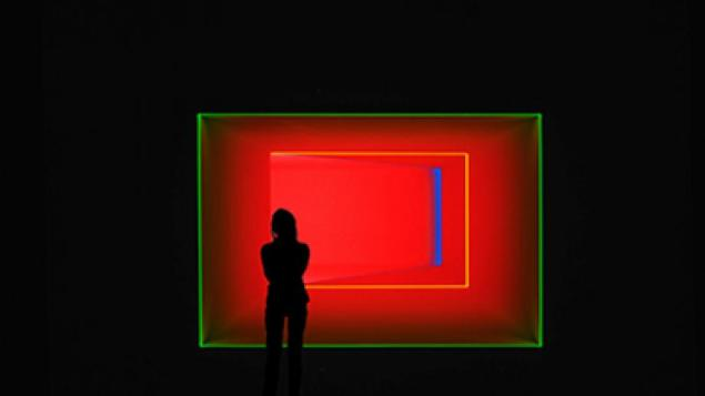 Installation view of James Turrell at the National Gallery of Australia. (Courtesy the National Gallery of Australia)
