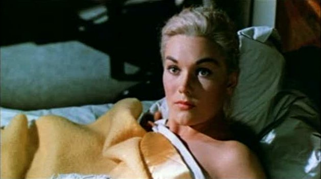 Kim Novak, from the 1958 trailer for Vertigo.