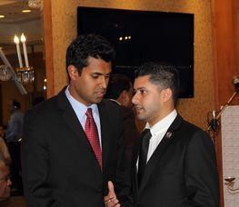 Gopal, left, and Mukherji.