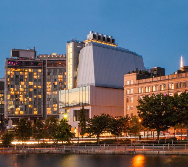 Sunset over The new Whitney Museum of American Art at 99 Gansevoort Street. (Courtesy: The Whitney)