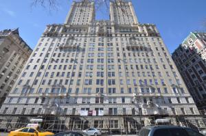 The nearly impossible dream: a setback terrace at the San Remo on Central Park West