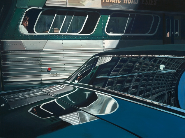 Bus with Reflection of the Flatiron Building (1966-1967). Photo: Luc Demers)