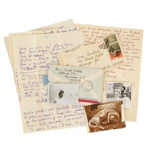 Frida Kahlo's intimate love letters go to auction on April 15.