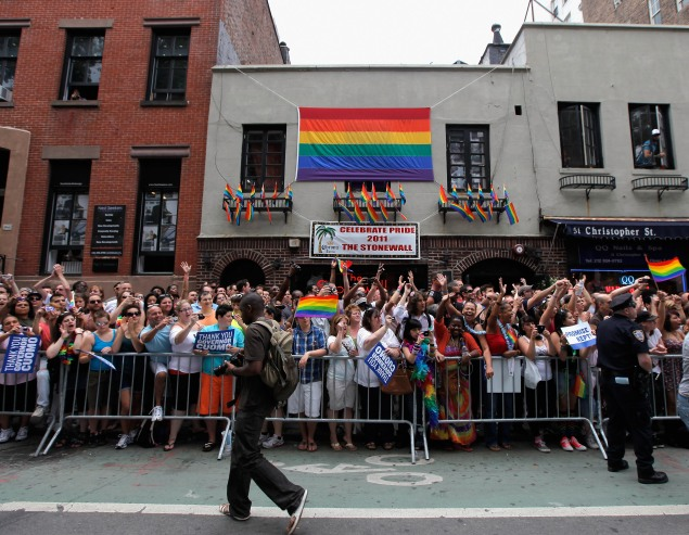 The New York City LGBT Pride March. (Photo:  Jemal Countess/Getty Images)