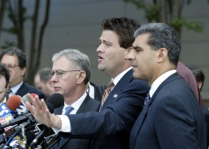 Baroni, center, was part of the scheme, Wildstein told a federal judge today.