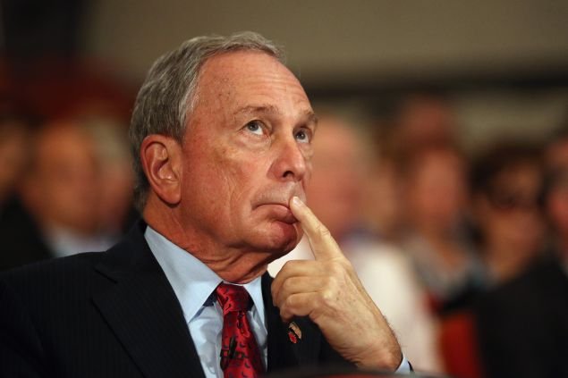Michael Bloomberg. (Photo by Oli Scarff/Getty Images)