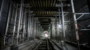 There appears to be a light at the end of the tunnel for the East Side Access Project underneath Grand Central Terminal (MTA Capital Construction/ Rehema Trimiew)