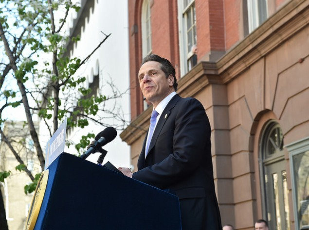 Gov. Andre Cuomo today. (Photo: NYS Governor's Office/Flickr)