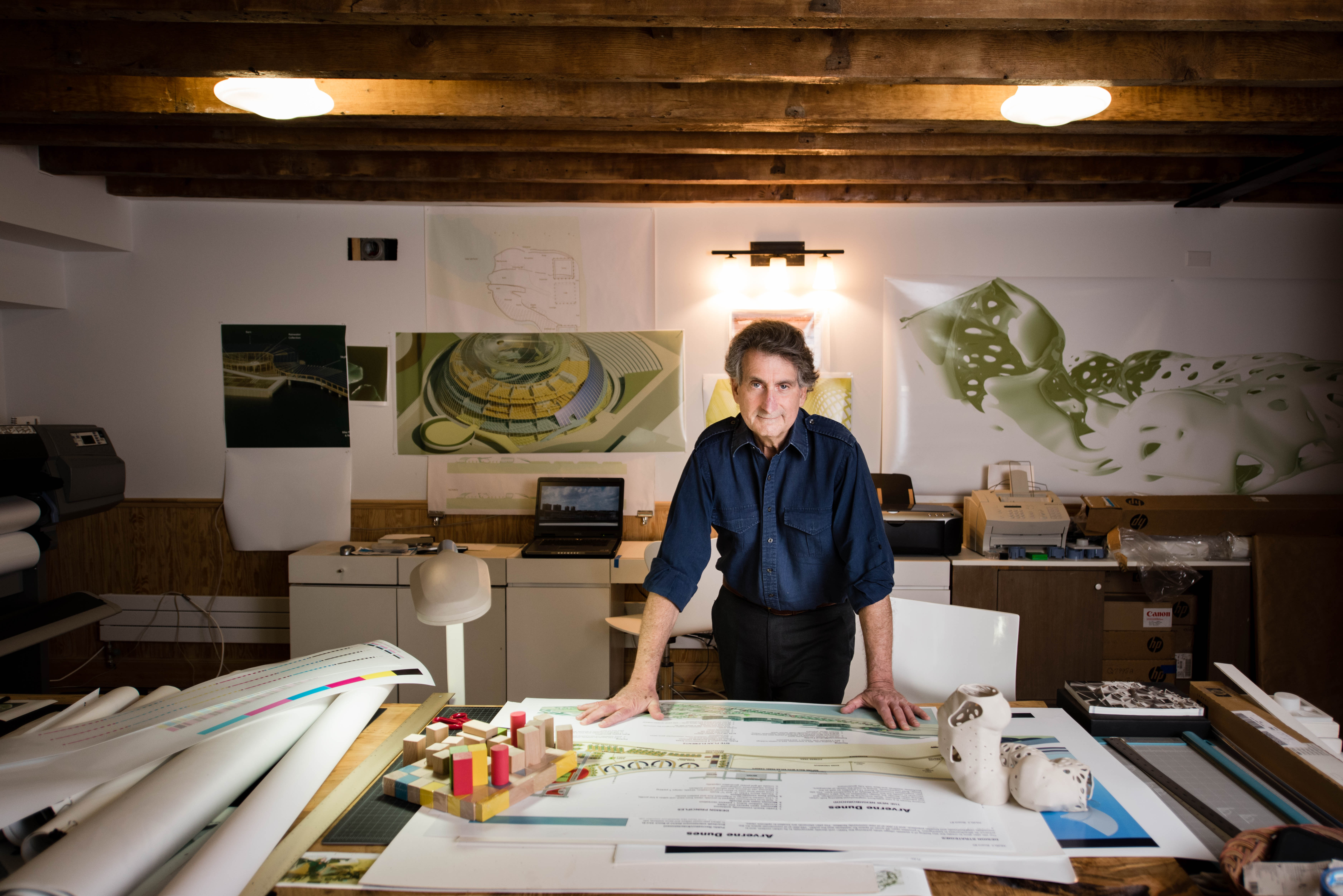 Bill Caplan made the switch from engineering to architecture at the age of 62. (Credits?)