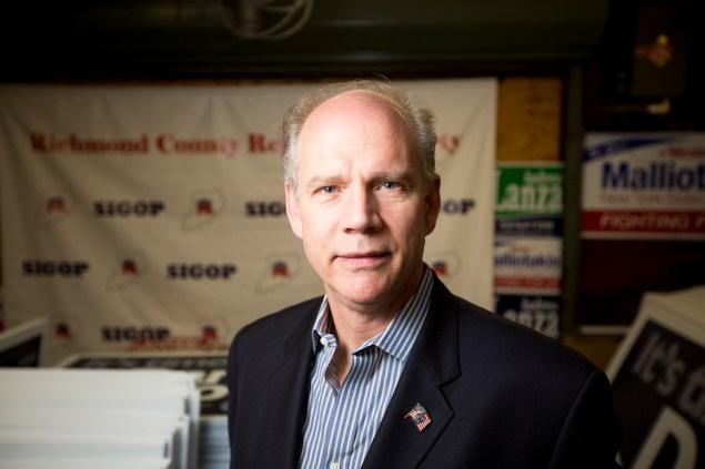 Staten Island District Attorney Daniel Donovan. (Photo: Michael Nagle/New York Observer)